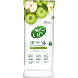 Photo of Pine O Cleen Simply Biodegradable Apple Scented Wipes 90 Pack