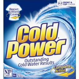 Photo of Cold Power Regular Front & Top Loader Laundry Powder 2kg