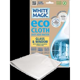 Photo of White Mag Glass M/Fibre Cloth 1pk