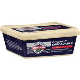 Photo of Mainland Organic Spreadable Salted Butter 250g