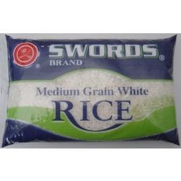 Photo of Swords Medium Grain Rice 2kg