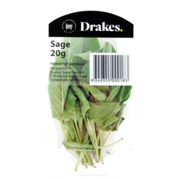 Photo of Drakes Sage Fresh Herbs 20g