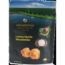 Photo of Yummy Lemon Myrtle Macadamias 135g