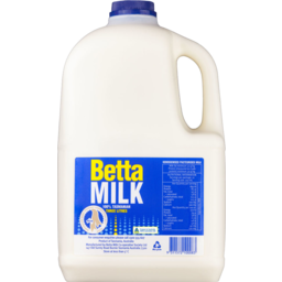 Photo of Betta Milk Full Cream Bottle 3L