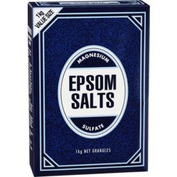 Photo of Epsom Salts 1kg