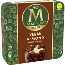 Photo of Magnum Dairy Free Almond 270ml 3pk
