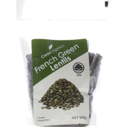 Photo of Ceres Organics French Green Lentils 500g