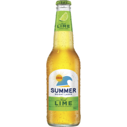Photo of XXXX Summer Bright Lager with Natural Lime Stubbies