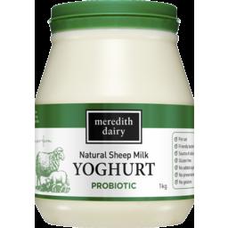Photo of Meredith Dairy Natural Sheep Milk Yoghurt Probiotic 1kg