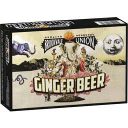 Photo of Brookvale Union Ginger Beer Cans