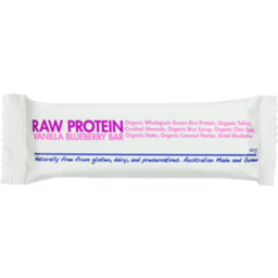 Photo of The Health Food Guys Co. Bar - Raw Protein - Vanilla Blueberry