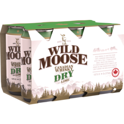 Photo of Wild Moose Whisky & Dry Cans