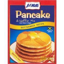 Photo of J.F. Mills Pancake & Waffle Mix