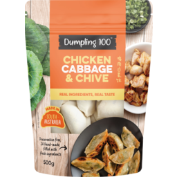 Photo of Dumpling 100 Chicken Cabbage & Chive Dumplings 500g