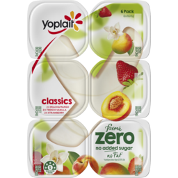 Photo of Yoplait Forme Zero Classics 6x160g
