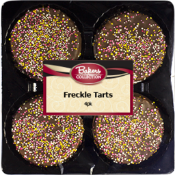 Photo of Bakers Collection Freckle Tarts 4pk