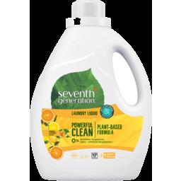 Photo of Seventh Generation Laundry Liquid Citrus 2 Ltr
