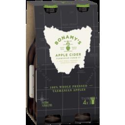 Photo of Bonamy's Tasmanian Apple Cider Bottles