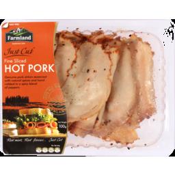 Photo of Farmland Foods Just Cut Hot Pork 100g