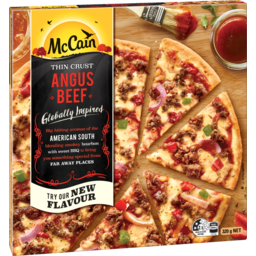 Photo of McCain Ultra Thin Angus Beef Pizza 320gm