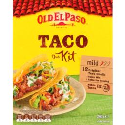 Photo of Old El Paso Kit Taco 290g