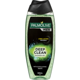 Photo of Palmolive Men Deep Clean Soap Free Body Wash With Exfoliating Seeds 500ml