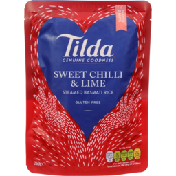 Photo of Tilda St/Rice S/Chli&Lme 250gm