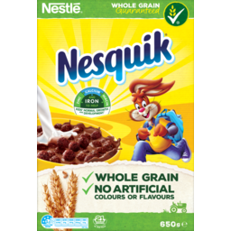 Photo of Nestle Nesquik Breakfast Cereal 650g 650g