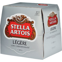 Photo of Stella Artois Legere 330ml Bottles 12 Pack