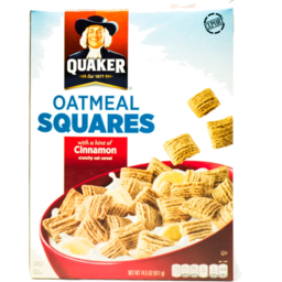 Photo of Quaker Oatmeal Squares Cinnamon