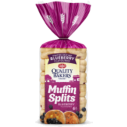 Photo of Quality Bakers Muffin Splits Blueberry 6 Pack