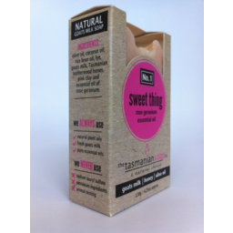 Photo of The Tasmanian Soap Company Sweet Thing Soap 120gm