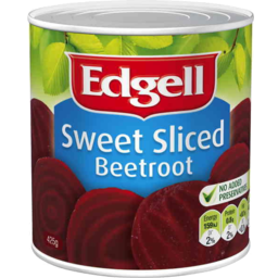 Photo of Edgell Sweet Sliced Beetroot 425g