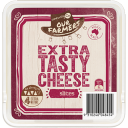 Photo of Community Co. Extra Tasty Cheese Slices 500g