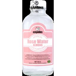 Photo of Benjamins Rose Water & Almond Flavour