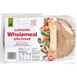 Photo of WW Pita Bread Wholemeal 10 Pack
