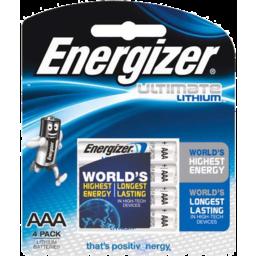 Photo of Energizer Ultimate Lithium Aaa 4pk