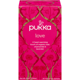 Photo of Pukka Love Tea 20 Pack
