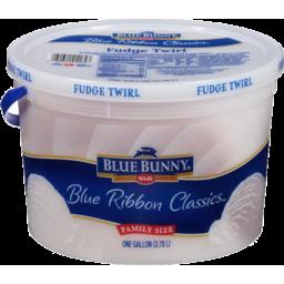 Photo of Blue Bunny Fudge Twirl Ice Cream