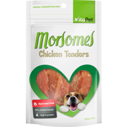 Photo of Vitapet Moresomes Dog Treats Chicken Tenders 100g