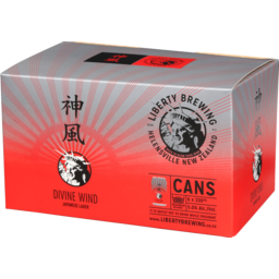 Photo of Liberty Divine Wind Cans 6 Pack