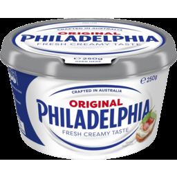 Photo of Philadelphia Spreadable Cream Cheese Original 250g