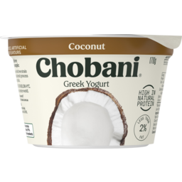 Photo of Chobani Coconut Greek Yogurt 170g