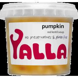 Photo of Yalla Pumpkin & Lentil Soup