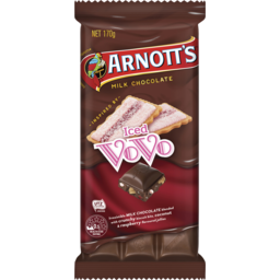 Photo of Arnott's Arnott'S Chocolate Block Iced Vovo 170g