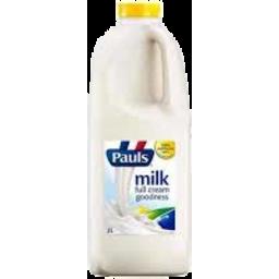 Photo of Pauls Full Cream Milk 2L