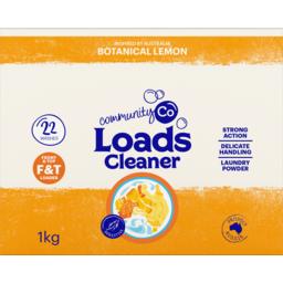 Photo of Community Co Laundry Powder Lemon 1kg