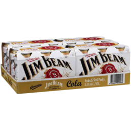Photo of Jim Beam White & Cola Can