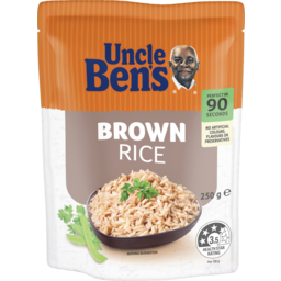 Photo of Uncle Bens Express Brown Rice 250g