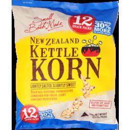Photo of New Zealand Kettle Korn Lightly Salted, Slightly Sweet 12 Snack Packs 204g